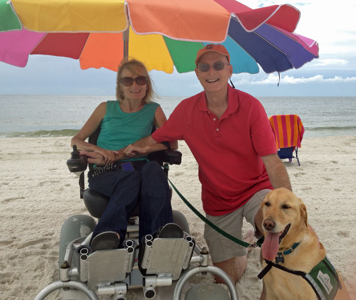 family-beach-wheelchair